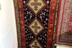 Handmade Persian Wool Rug - 228 x 98cm - New £220